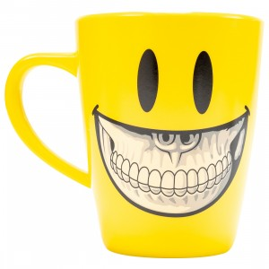 MINDstyle x Ron English Plastic Grin Cup (yellow)