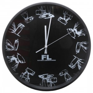Futura Laboratories Wall Clock (black)