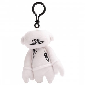 Futura Laboratories Johnny Plush Keychain (white)