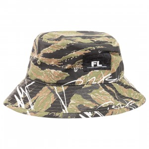Futura Laboratories Bucket Hat (camo)