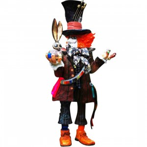 MINDstyle x Disney Mad Hatter Figure - Michael Lau (brown)