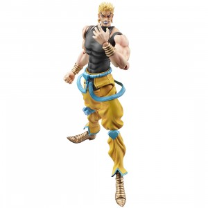 PREORDER - Medicos Super Action Statue JoJo's Bizarre Adventure Part 3 Stardust Crusaders Dio Brando Awakening Ver Figure (gray)