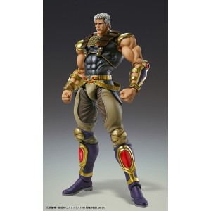 PREORDER - Medicos Super Action Statue Fist of the North Star Raoh Chozokado Figure (tan)