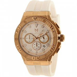 Meister Ambassador Stainless MK2 Watch (gold / rose gold / white)