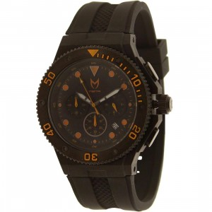 Meister Ambassador Plastic MK2 Watch (black / orange)