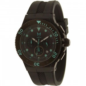 Meister Ambassador Plastic MK2 Watch (black / teal)