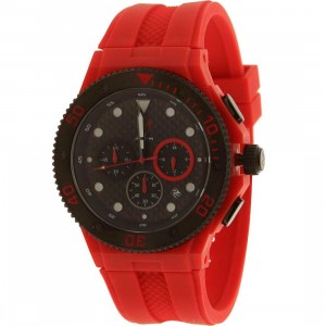 Meister Ambassador Plastic MK2 Watch (red)