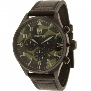 Meister Aviator Watch - B Scott Camo (black / camo)