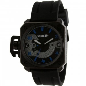 Meister Chief Rubber Strap Watch - Bun B LTD (black / blue) - PYS.com Exclusive