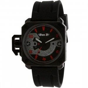 Meister Chief Rubber Strap Watch - Bun B LTD (black / red) - PYS.com Exclusive