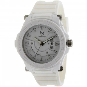Meister Prodigy Watch (white/ white rubber band)