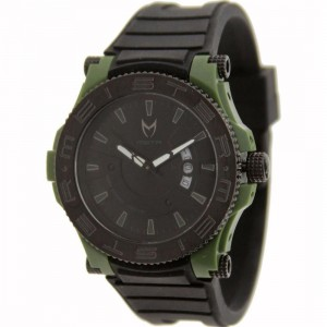 Meister Prodigy With Rubber Band Watch (green / black)