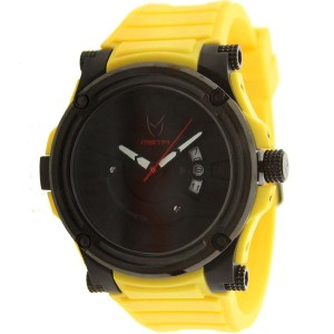 Meister Prodigy Watch With Rubber Band (yellow)