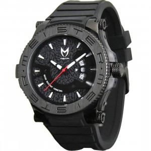 Meister Prodigy Stainless Steel Watch - Cement Pack (black)
