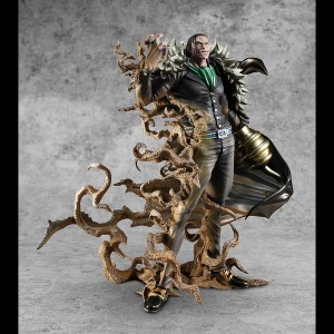 PREORDER - MegaHouse One Piece Portrait of Pirates MAS-Maximum Sir Crocodile Figure (black)
