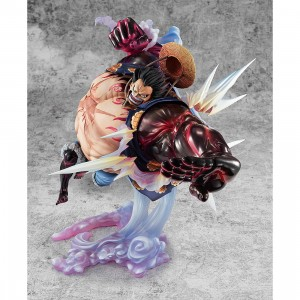 PREORDER - MegaHouse One Piece Portrait of Pirates SA-Maximum Monkey D. Luffy Gear 4th Boundman Ver. 2 Figure (red)
