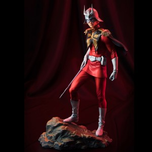 PREORDER - MegaHouse Gundam Guys Generation Mobile Suit Gundam Char Aznable Figure Re-Run (red)
