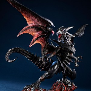 PREORDER - MegaHouse Art Works Monsters Yu-Gi-Oh  Duel Monsters Red-Eyes Black Dragon Figure (black)