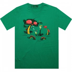 Martin Hsu Sea Monkey Tee (kelly green)