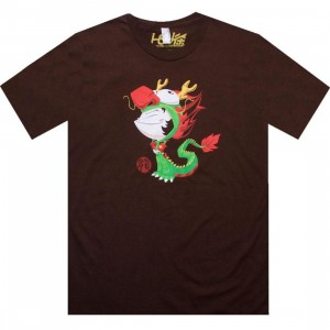 Martin Hsu Dragon Boy Tee (brown)