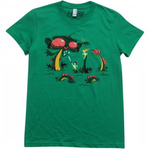 Martin Hsu Women Sea Monkey Tee (kelly green)