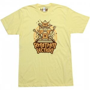 Martin Hsu Rhythm Section Tee (yellow)