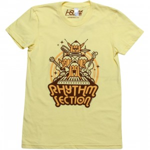 Martin Hsu Women Rhythm Section Tee (yellow)