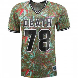 Mishka Mr Nice Guy Football Jersey (green / strawberry cough)