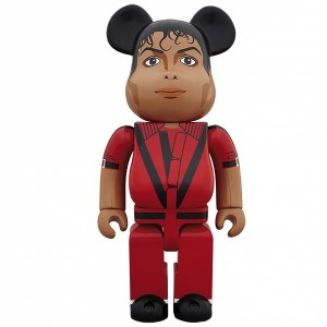 PREORDER - Medicom Michael Jackson Thriller Red Jacket 1000% Figure (red)
