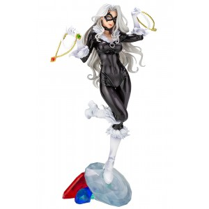 PREORDER - Kotobukiya Marvel Black Cat Steals Your Heart Bishoujo Statue (black)