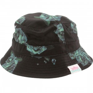 Married To The Mob x Diamond Supply Women Bucket Hat (black)