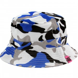 Married To The Mob Worst Enemy Bucket Hat (white / blue / multi)