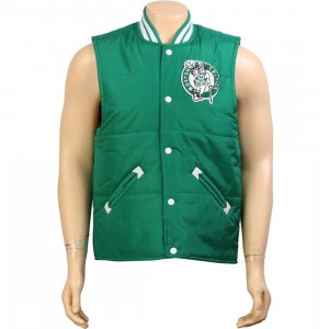 Mitchell And Ness Boston Celtics Tailgate Vest (kelly)