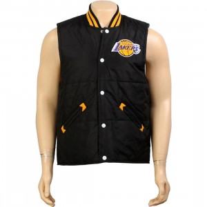 Mitchell And Ness Los Angeles Lakers Tailgate Vest (black)