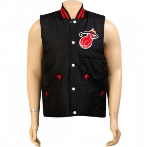 Mitchell And Ness Miami Heat Tailgate Vest (black)