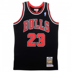 Mitchell And Ness x NBA Men Chicago Bulls Michael Jordan Jersey - Alternate 97 (black)