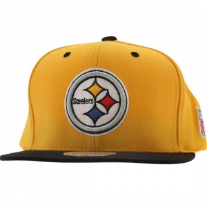 Mitchell And Ness Pittsburgh Steelers Retro Snapback Cap (yellow / black)