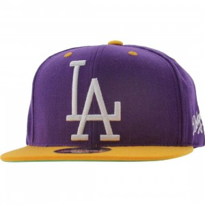American Needle Los Angeles Dodgers Snapback Cap (purple / gold) - PYS.com Exclusive