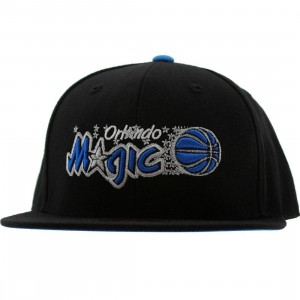 Mitchell And Ness Orlando Magic Third Alternate Logo Fitted Cap (black)