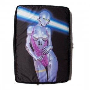 Medicom x SYNC x Hajime Sorayama x Porter Sexy Robot Document Case Bag (black)