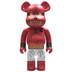 Medicom Akaoni Shinobu Red Demon 1000% Bearbrick Figure (red)