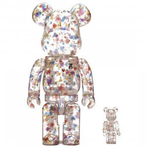 Medicom Anrealage 100% 400% Bearbrick Figure Set (multi)