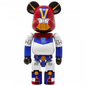 Medicom Super Alloyed Combattler V 200% Bearbrick Figure (red)