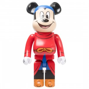 Medicom Disney Fantasia Mickey Mouse 1000% Bearbrick Figure (red)