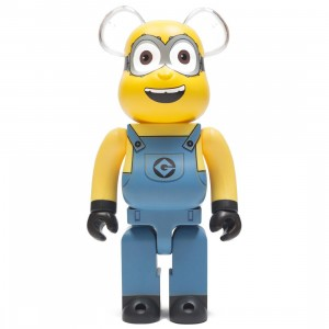 Medicom Despicable Me 3 Minion Dave 400% Bearbrick Figure (yellow)