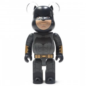 Medicom Justice League Batman 400% Bearbrick Figure (black)