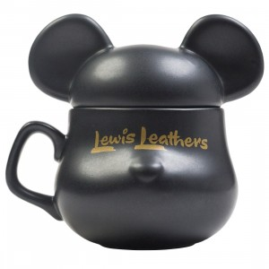 Medicom Lewis Leather Bearbrick Be@rmug (black)