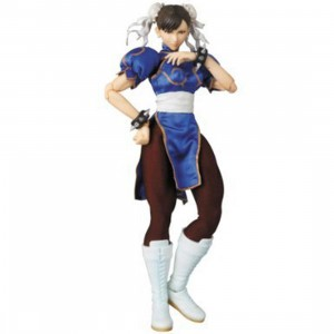 Medicom RAH Chun-Li Version 2.0 Figure (blue)