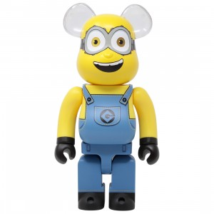 Medicom Minions Bob 400% Bearbrick Figure (yellow)