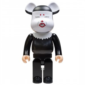Medicom Misty 1000% Bearbrick Figure (black / white)